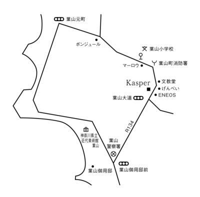 カスパールの地図